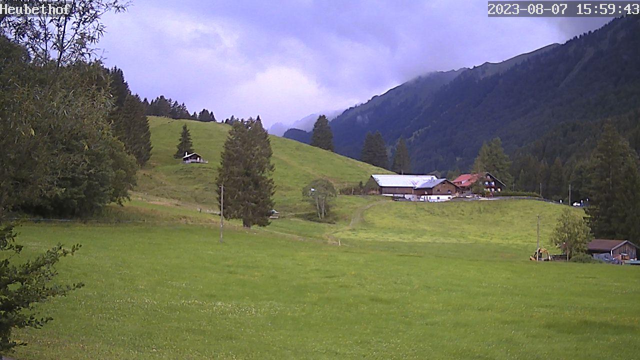 Gunzesried-Säge: Blick auf den Hochgrat